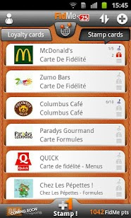 FidMe - Loyalty cards - screenshot thumbnail