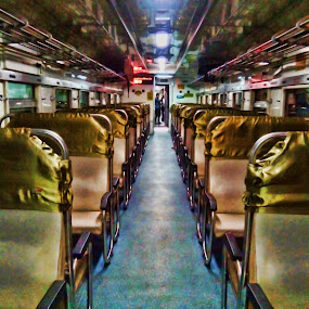 Chairs in the Train by Lestari El-Surury - Instagram & Mobile Android