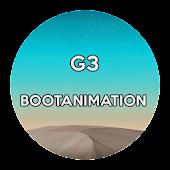 G3 Bootanimation CM11/PA