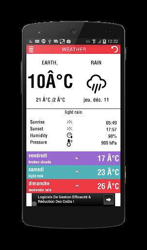 Weather Widget Info 2015