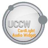 CardLight Audio Widget