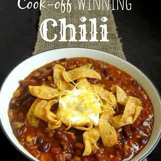 Cook-off Winning Chili.