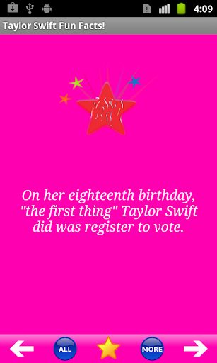 Taylor Swift Fun Facts