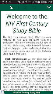 NIV First Century Study Bible - náhled