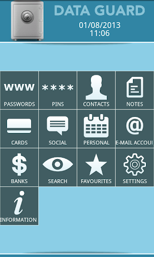 Data + Guard: password manager