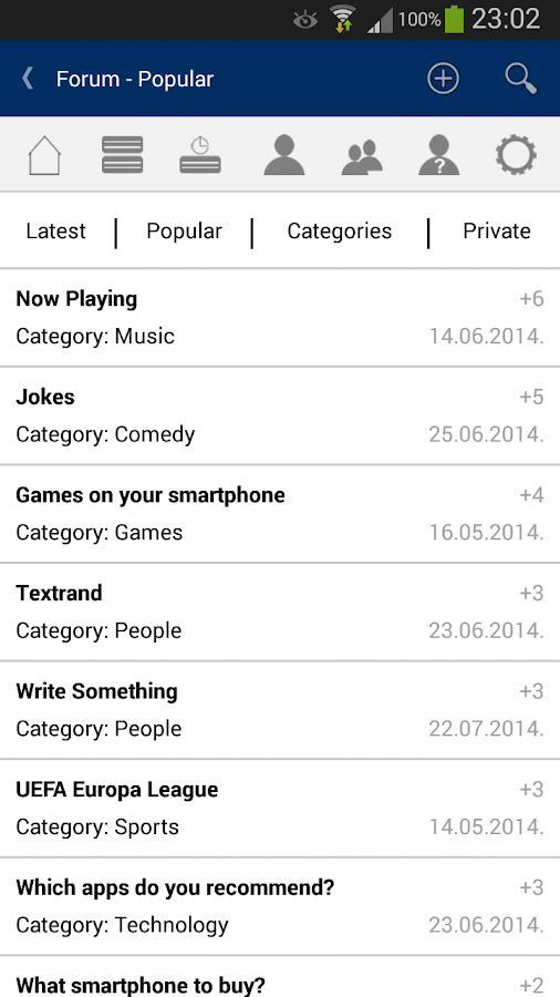 Textrand - screenshot