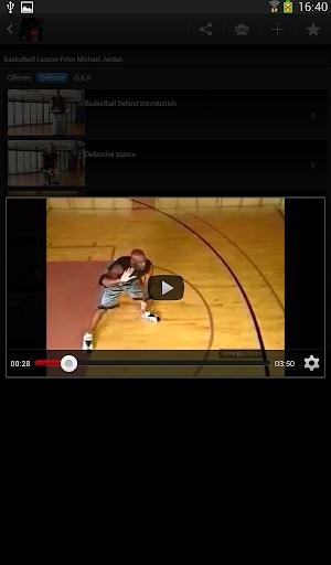 喬丹籃球教學課
