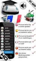 Screenshot of Free French Verbs