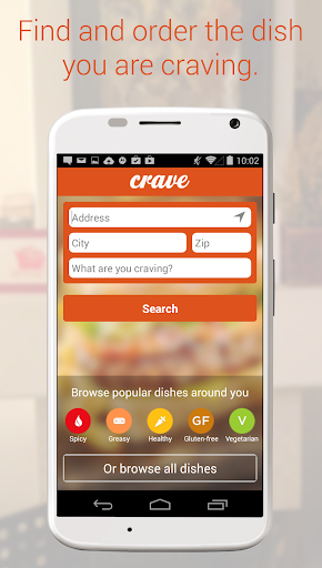 Crave: Get Food You're Craving