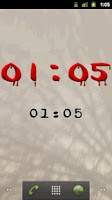 Screenshot of Horror Digital Clock Free