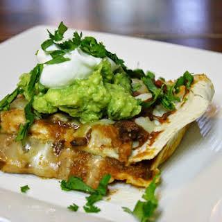 Mexican Lasagna With Guacamole.