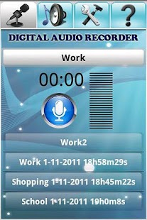 Digital Audio Recorder - screenshot thumbnail