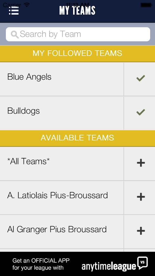 Lafayette Little League - screenshot