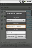 Screenshot of DroidList