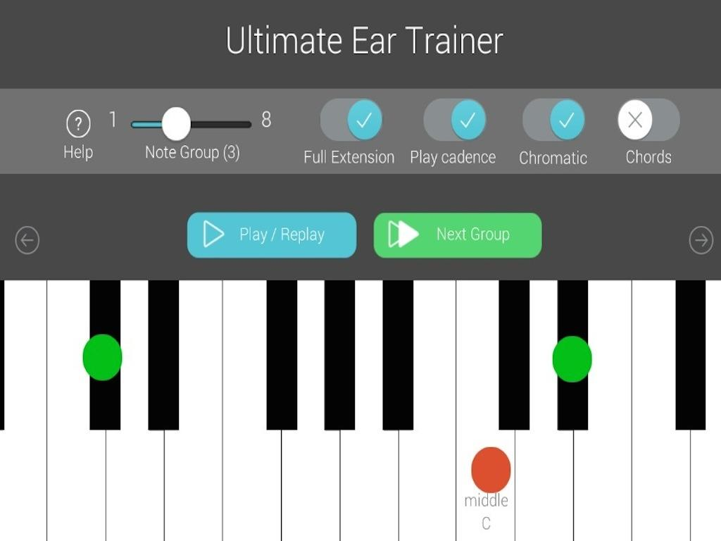 Ultimate ear trainer android apps on google play ultimate ear trainer screenshot hexwebz Image collections