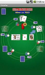 Omaha Poker - screenshot thumbnail