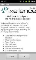 Screenshot of ixGyro Glass Cockpit Pro
