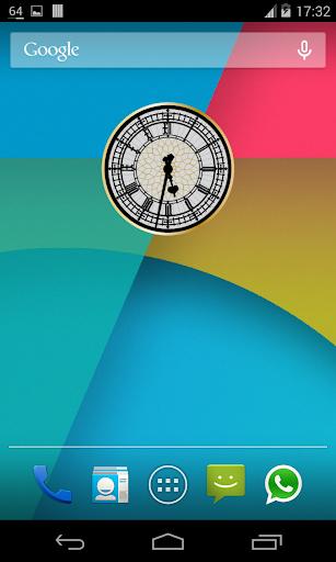 무한 시계 위젯