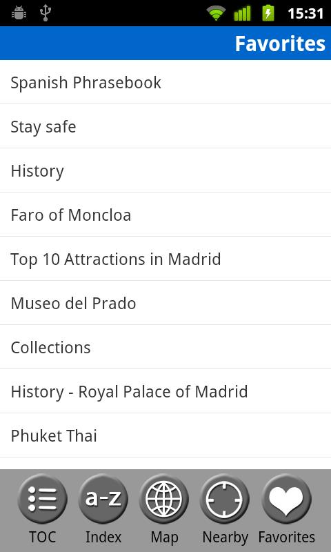 Madrid & Central Spain - Guide - screenshot
