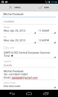 Share To Calendar - screenshot thumbnail