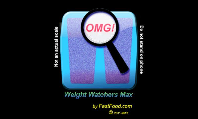 Weight Watchers Max - screenshot