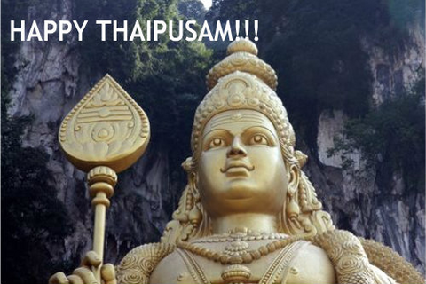 Happy Thaipusam Greeting Cards