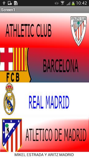 Alineaciones Futbol
