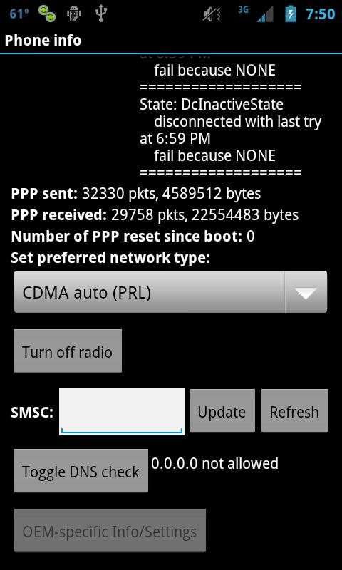 SWITCHIT - 4G LTE TOGGLE - screenshot