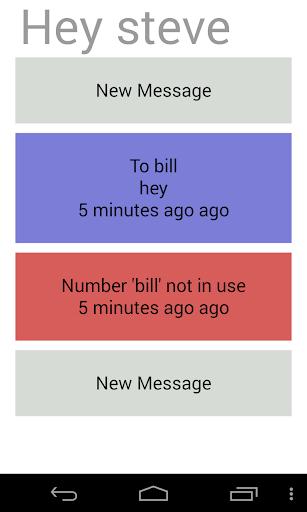 Hey Messaging