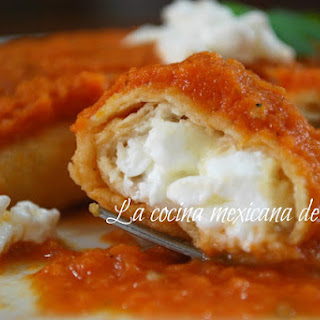 Chipotle Cottage Cheese Enchiladas