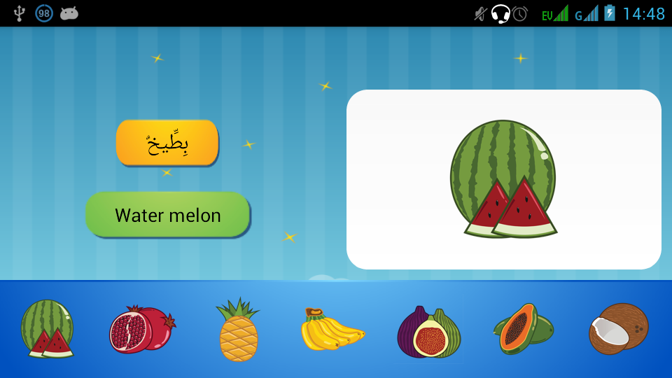 Mufradat - Arabic Vocabulary - screenshot