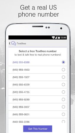 Text Free on Textfree Texting 3.0.12 screenshot 24760