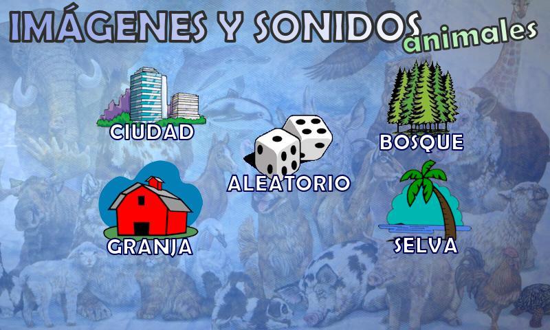 Animales - imágenes y sonidos - screenshot