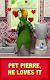 screenshot of Talking Pierre the Parrot
