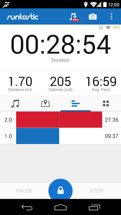 Runtastic Running & Fitness - screenshot