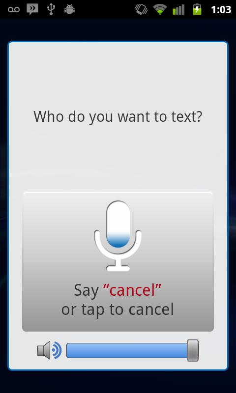 Sonalight Text by Voice - screenshot