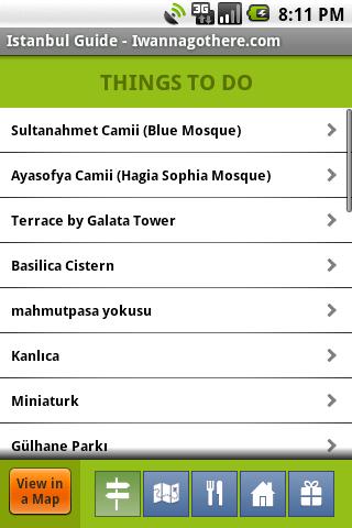 Istanbul Travel Guide- screenshot