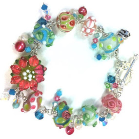 Garden Bracelet by Robin Stoy - Artistic Objects Jewelry ( object, artistic, jewelry )