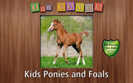 1st Games Kids Pony Puzzles