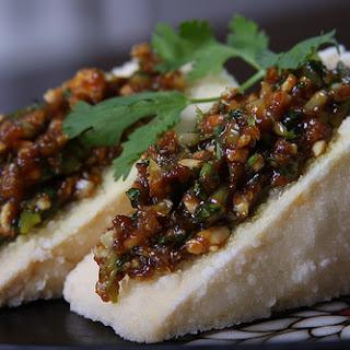 Lemongrass and Garlic Stuffed Tofu