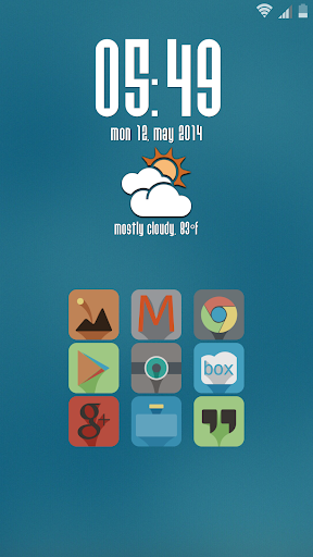 Liv Launcher Theme