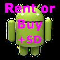 Rent/Buy mortgage calculator icon