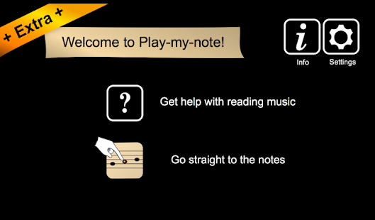 Play-my-note Extra- screenshot thumbnail