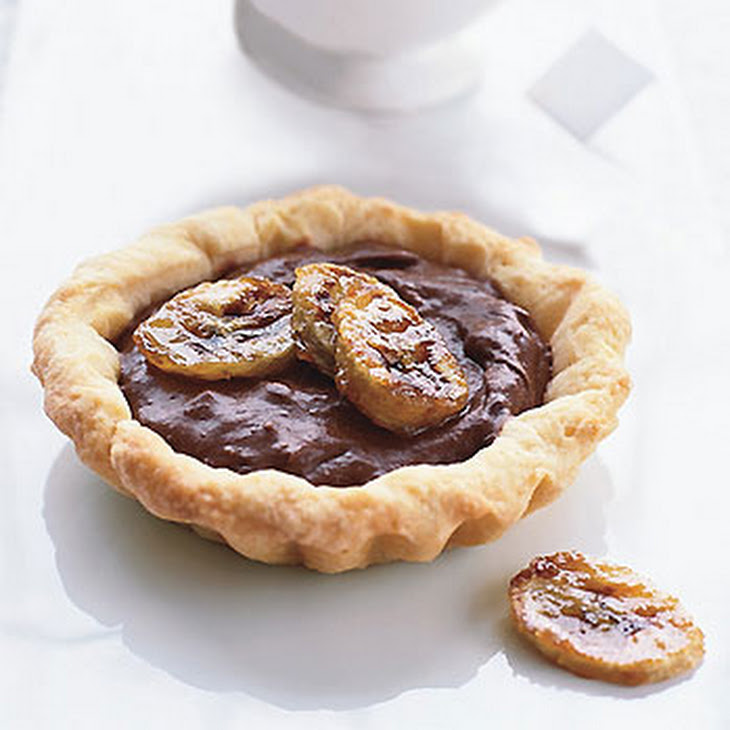 Chocolate-Banana Tarts Recipe