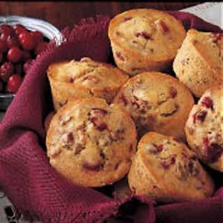 Cranberry Nut Muffins.