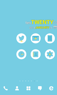 Sky Punch dodol theme - screenshot thumbnail