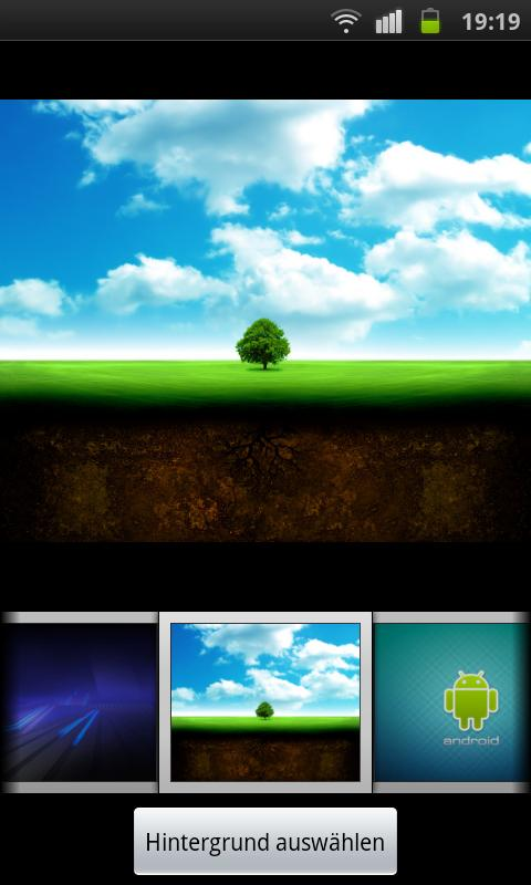 Plate Theme 4 GO Launcher EX - screenshot