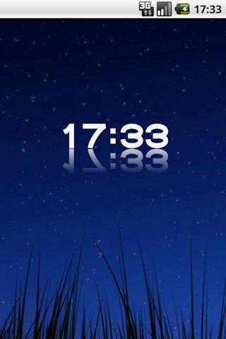 D-Clock Widget - screenshot