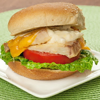 Quick and Healthy Fish Sandwich.