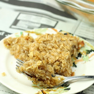 Amazing Healthy Oatmeal Pie